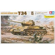 #89569 Tamiya Russian Medium Tank T34 Type 85 125 Scale Plastic Model Kit,Needs Assembly