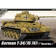 Academy Models ACA13502 1:35 Academy German T-34/76 747(r) [MODEL BUILDING KIT]