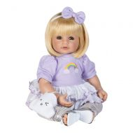 Adora ToddlerTime Doll Over The Rainbow 20 inch Toddler Baby Doll in CuddleMe Vinyl, Realistic Lifelike Weighted Cloth Body, Blonde Hair & Blue Eyes