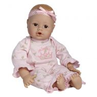 Adora Playtime Baby Doll 13-Inch Light Skintone Brown Eyes Pink Romper