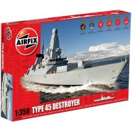 Airfix HMS Daring Type 45 Destroyer Boat Building Kit, 1:350 Scale