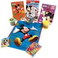 American Flyer Disney Toys, Fun, Art Bundle- Great for Gift, Travel, Rainy Day Busy Kit! Choose Mickey, Minnie, Frozen, Princesses, Toy Story, Marvel or Star Wars! (11-Piece, Micke