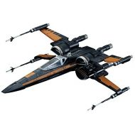 Bandai Hobby Star Wars 172 Poes X-Wing Fighter The Force Awakens Building Kit