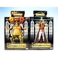 Piece DX King under seven Takeumi figure vol.3 ONE PIECE Banpresto (all two full set + Poster with b