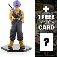Banpresto Trunks: ~5.9 DragonBall Z Super Figure Collection + 1 FREE Official DragonBall Trading Card Bundle