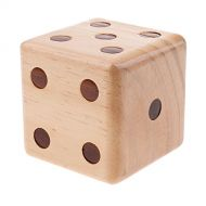 Baoblaze Special Jumbo Game Dice Outdoor Lawn Yard Game Party Toys Children Teaching Project 9cm
