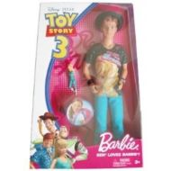 Disney  Pixar Toy Story 3 Barbie Doll Ken Loves Barbie by Barbie