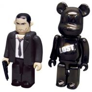 Lost TV Show Logo Bearbrick Jack Kubrick 2-Pack