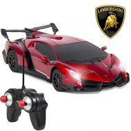 Best Choice Products 1/24 Officially Licensed RC Lamborghini Veneno Sport Racing Car W/ 27MHz Remote