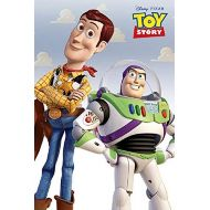 Brand: Poster Art House Toy Story Poster, Woody and Buzz, Pixar Version, Size 24x36