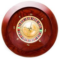 Brybelly Casino Grade Deluxe Wooden Roulette Wheel