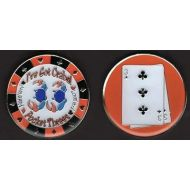 Brybelly Crabs Poker Card Cover Protector - Comes with Free Cut Card!
