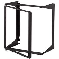 C2GCables To Go 14615 11U Swing Out Wall Mount Open Frame Rack 18 Deep