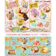 Capsule Toy Gudetama Sweets Box Of 8 pieces