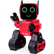 Costzon Wireless Remote Control Robot, RC Robot Toy Senses Gesture, Sings, Dances, Talks, and Teaches Science Robot Smart for Kids (Red)