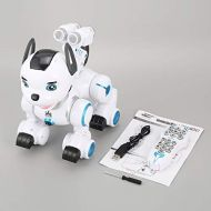 /CremeBruluee K10 Smart RC Dog Dance Remote Control Robot Dog Electronic Pet Kid Toy