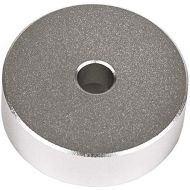 Crosley AC1040A-AL Solid Aluminum 45 RPM Adapter