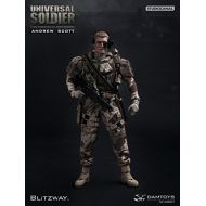 DAM TOY Universal Soldier 1/6 Scale Action Figure Andrew Scott (dms001)