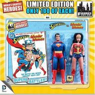 DC World DC Superman Worlds Greatest Super Heroes Retro Two-Pack Series 3 Wonder Woman & Superman 8 Action Figure 2-Pack