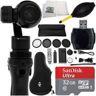DJI Osmo Handheld 4K Camera and 3-Axis Gimbal 9PC Accessory Kit. Includes SanDisk Ultra 32GB microSDHC Memory Card + High Speed Memory Card Reader + 5PC Filter Kit (UV-CPL-ND4-ND8