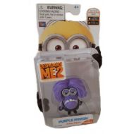 Despicable Me 2 Two Eyed Purple Minion 2 Poseable Figure