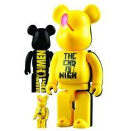 DIAMOND SELECT TOYS Watchmen Movie Bearbrick 400%100% Set