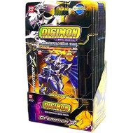 Bandai Digimon Collectible Card Game Operation X Booster Box (12 Packs)