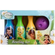 Walt Disney Tinkerball Fairies Bowling Set in Display Box Include 6 Pins and Bowling Ball Set