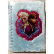Disney Frozen Anna & Elsa Furry Journal with pen