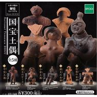 Epoch Capsule history museum national treasure clay figure whole set of 5
