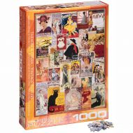 Eurographics Theatre & Opera Vintage Posters Puzzle 1000 pc Box