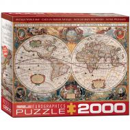 Eurographics EuroGraphics Antique Map of the World 2000-Piece Puzzle