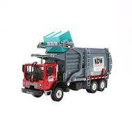 FUBARBAR Metal Model Car Toy Alloy Transformers Clean Garbage Trash Truck Model for Collection