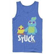 Fifth Sun Toy Story Mens 4 Ducky & Bunny Stuck with Us Tank Top