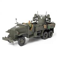 Forces Of Valor Unimax Forces of Valor 1/32 GMC 2.5 Ton Cargo Truck with 4x0.5 AA Machine Gun Assembled Diecast Military Model