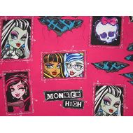 Franco Manufacturing All Ghouls Allowed Monster High 60% Cotton (Flat Sheet ONLY) Size Twin Girls Kids Bedding