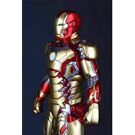 Gmasking Iron Man MK42 Action Figure Statue Scale 1: 5 Replica