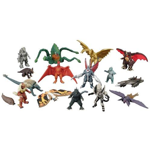 Godzilla Final Wars Pack of Destruction Gashapon Figure Set