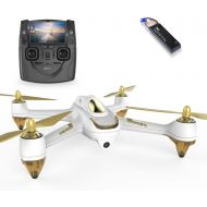HUBSAN H501SS X4 FPV Drone GPS 5.8GHz Transmitter 1080P HD Camera Brushless Motor Quadcopter(H501SS Black)