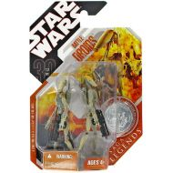 Hasbro Toys Star Wars Saga Legends 2007 30th Anniversary Battle Droid & Battle Droid Commander Action Figure 2-Pack [Yellow Stripe]