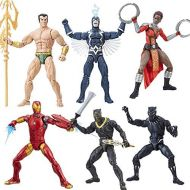 Hasbro Black Panther Marvel Legends 6-Inch Action Figures Wave 1 Set