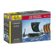 Heller 80853 Model Kit Leif Eriksson & Turf Karl Efni