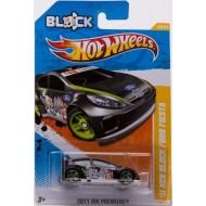 2011 Hot Wheels 11 Ken Block Ford Fiesta Black #40244 1:64 Scale Collectible Die Cast Car