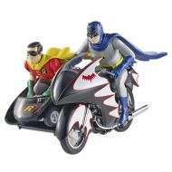 Hot Wheels Batman Batcycle Vehicle with Figures