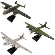 InAir SMITHSONIAN E-Z Build 3pc Set - B-17 Green Flying Fortress, B-29 Superfortress & B-25 Mitchell