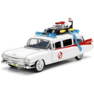 Ghostbusters HOLLYWOOD RIDES GHOSBUSTERS ECTO-1 1:24 SCALE DIE CAST VEHICLE BY JADA TOYS