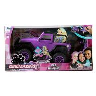 Jada Toys GIRLMAZING Big Foot Jeep RC Vehicle (1:16 Scale), Purple