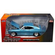MiJo Exclusives JadaToys 新しい1 : 24 W  B Jada Toys Mijo Exclusivesコレクション  Showroom Floor Series  Blue 1967 Chevrolet Impala