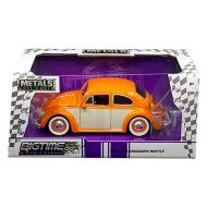 BigTime Muscle From JadaToys 新しい1 : 24 W / B Jada Toys Bigtime Kustomsコレクション  オレンジクリム1959 Volkswagen Beetle 2トンwith Baby Moon