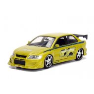 Fast & Furious From JadaToys NEW 1:24 JADA TOYS DISPLAY FAST & FURIOUS - Green Brians Mitsubishi Lancer Evolution VII Diecast Mod